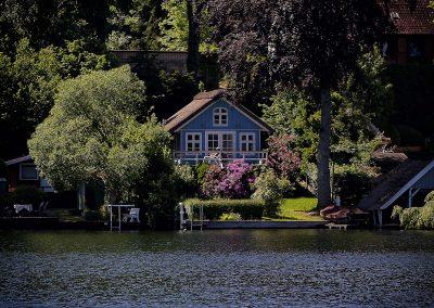 01 Ferienhaus am Küchensee (Ratzeburg) in Blau