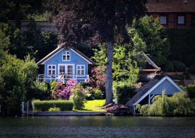02 Ferienhaus am Küchensee (Ratzeburg) in Blau