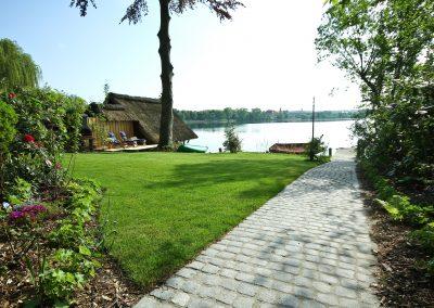 Ferienhaus am Küchensee (Ratzeburg) Garten 1