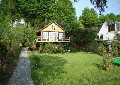 Ferienhaus am Küchensee (Ratzeburg) Garten 4
