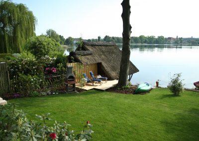 Ferienhaus am Küchensee (Ratzeburg) Garten 7